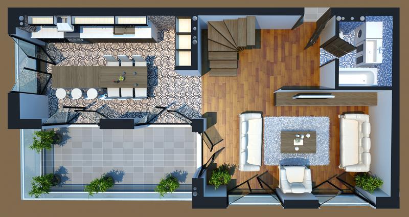 Duplex A - 22 Kati 1